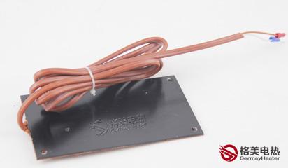 带铝板硅橡胶加热板_电加热器,加热圈,加热管,加热板